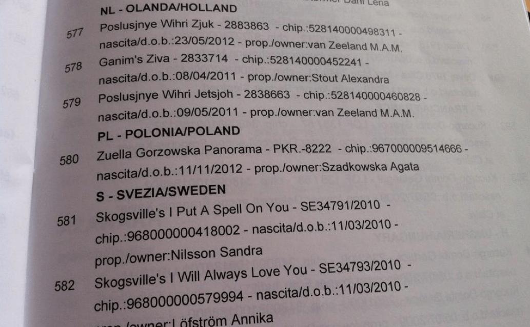 Mistrzostwa Europy w Coursingu lavarone